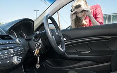 Automotive Keys Stuck In Car